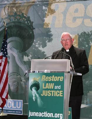 Ambassador of Peace Bishop Walter Sullivan