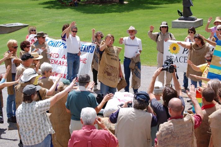 PC New Mexico's Hiroshima Day Action