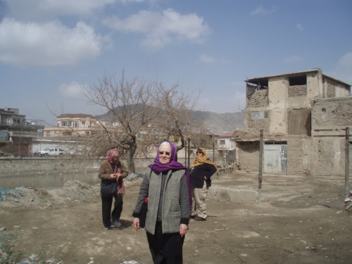 Judith Kelly in Kabul