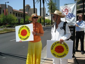 PC-Phoenix participates in anti-nuke demo