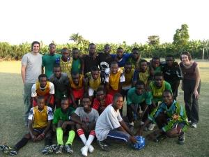 SAKALA under-17 soccer team