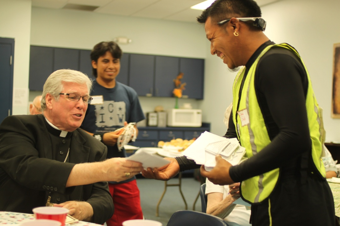Bishop Dewane of the Diocese of Venice (FL) with CIW member