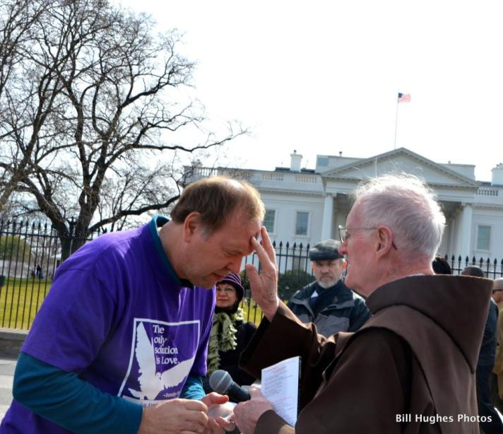 Ash Wednesday Prayer Service at the White House