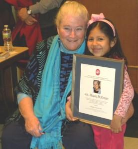 Megan McKenna wins Hecker Award