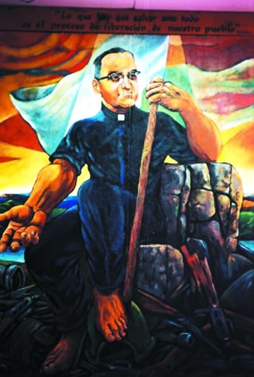 Romero mural