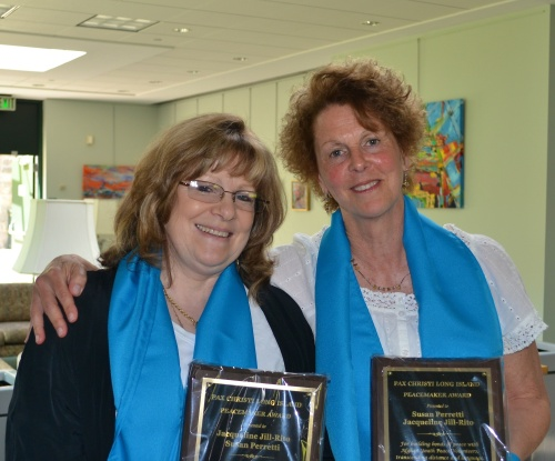 Pax Christi Long Island's 2012 Peacemaker Awards