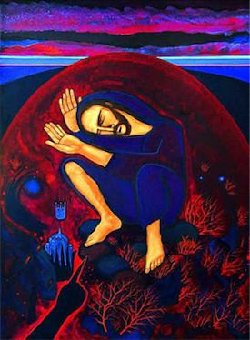 Michael O'Brien: Christ's Temptations in the Desert