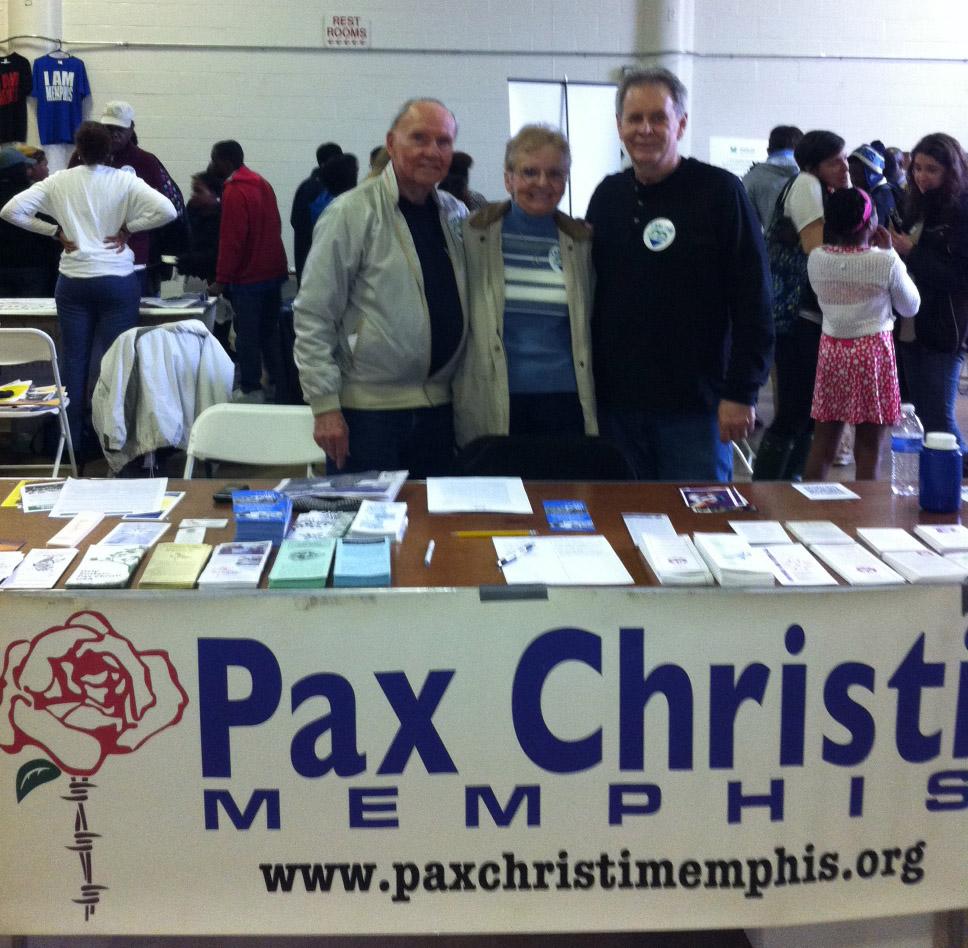 PC-Memphis members Ed Wallin, Janice Vanderhaar and Paul Crum at the Heart of Memphis celebration.