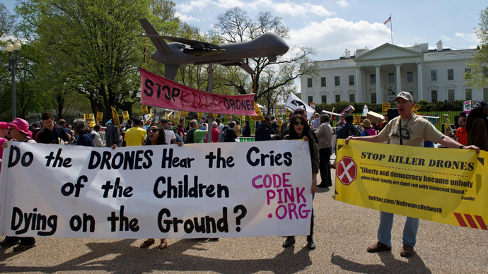 US-MILITARY-DRONE-PROTEST