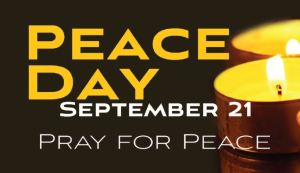 Peace Day - Business Card layout