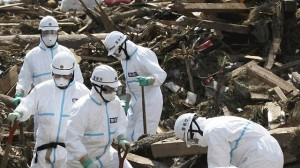 Clean-up at the Fukushima nuclear plant in Japan.