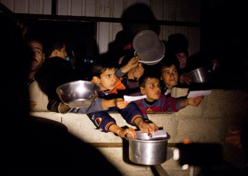 Displaced Syrians