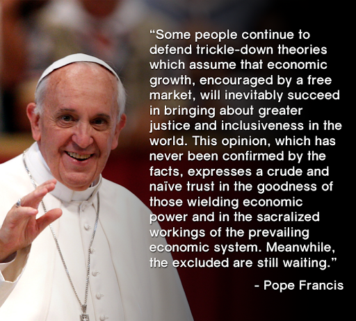 ECONOMIC JUSTICE: An economist considers Pope Francis ...