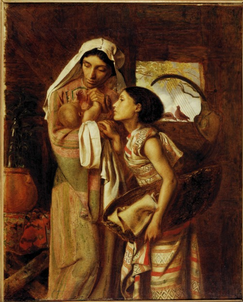 The Mother of Moses, 1860 by Simeon Solomon (1840-1905)