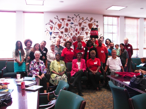 "Participants in the ""We Grow Together"" workshop held at Barry Universiry in May and hosted by Pax Christi Florida."