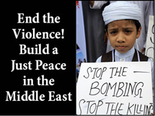 End the violence in Gaza