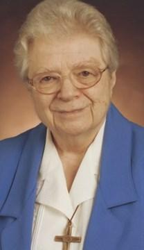 Click on this photo of Sr. Mary Evelyn Jegen to read more memories and stories of her witness.