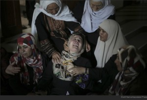 Gaza mothers in mourning.
