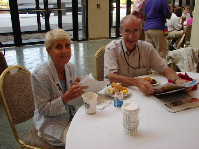 Carol Ann and Lee Breyer in 2013.