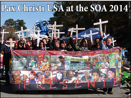 Pax Christi USA at the SOA 2014
