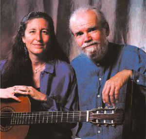 Karen Brandow and Charlie King