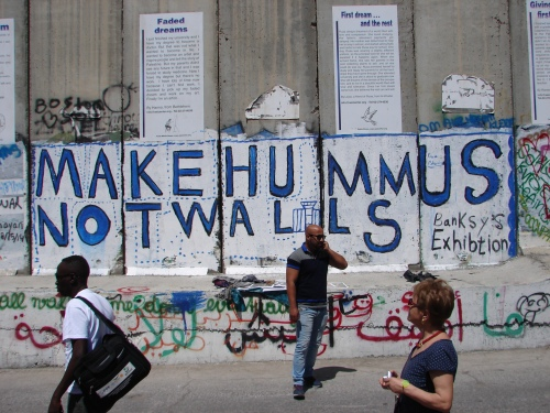 The Separation Wall in the West Bank