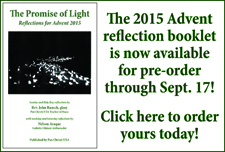 Pre-order your 2015 Advent reflection booklet!