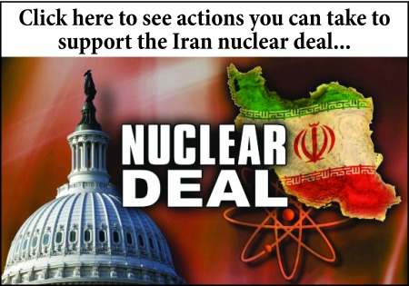Support the Iran nuclear deal!