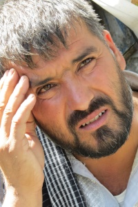 Abdul Fatah, a refugee from Kunduz, in Kabul