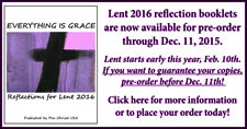 2016 Lent Booklet