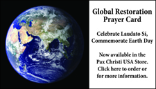 Prayer Card for Global Restoration
