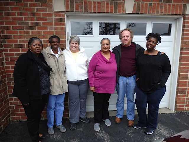 Members of the Pax Christi Anti-Racism team at their gathering in Illinois last month