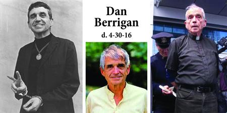 Dan Berrigan, S.J. - Presente!