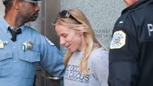 Jessica Reznicek arrested outside of Northrop Grumman Corporation in Nebraska