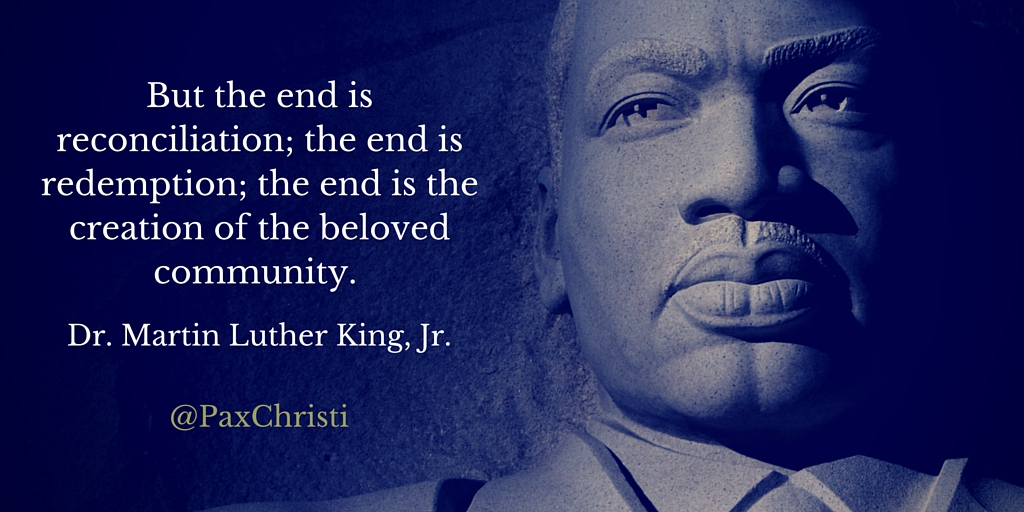 the end is reconciliation