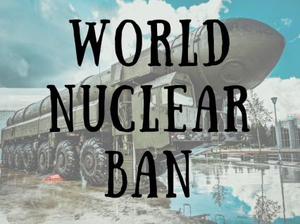 World nuclear ban