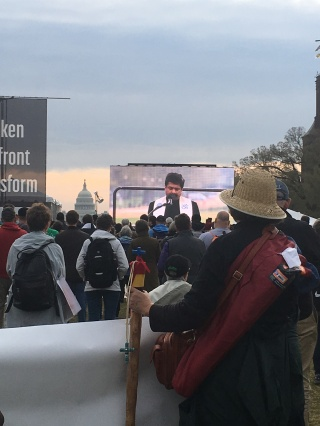 People of all faiths spoke at the ACT to End Racism event