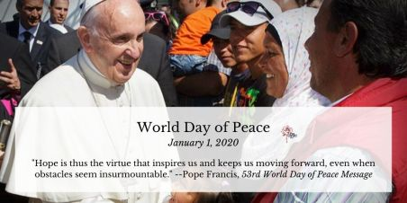 Twitter World Day of Peace